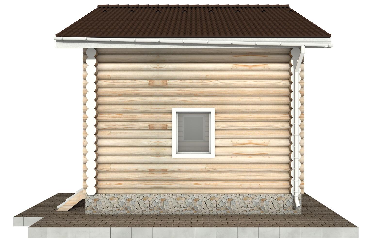 Фото #9: Красивый деревянный дом РС-95 из бревна