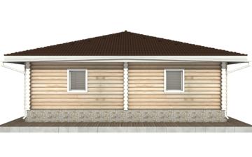 Фото #10: Красивый деревянный дом РС-96 из бревна