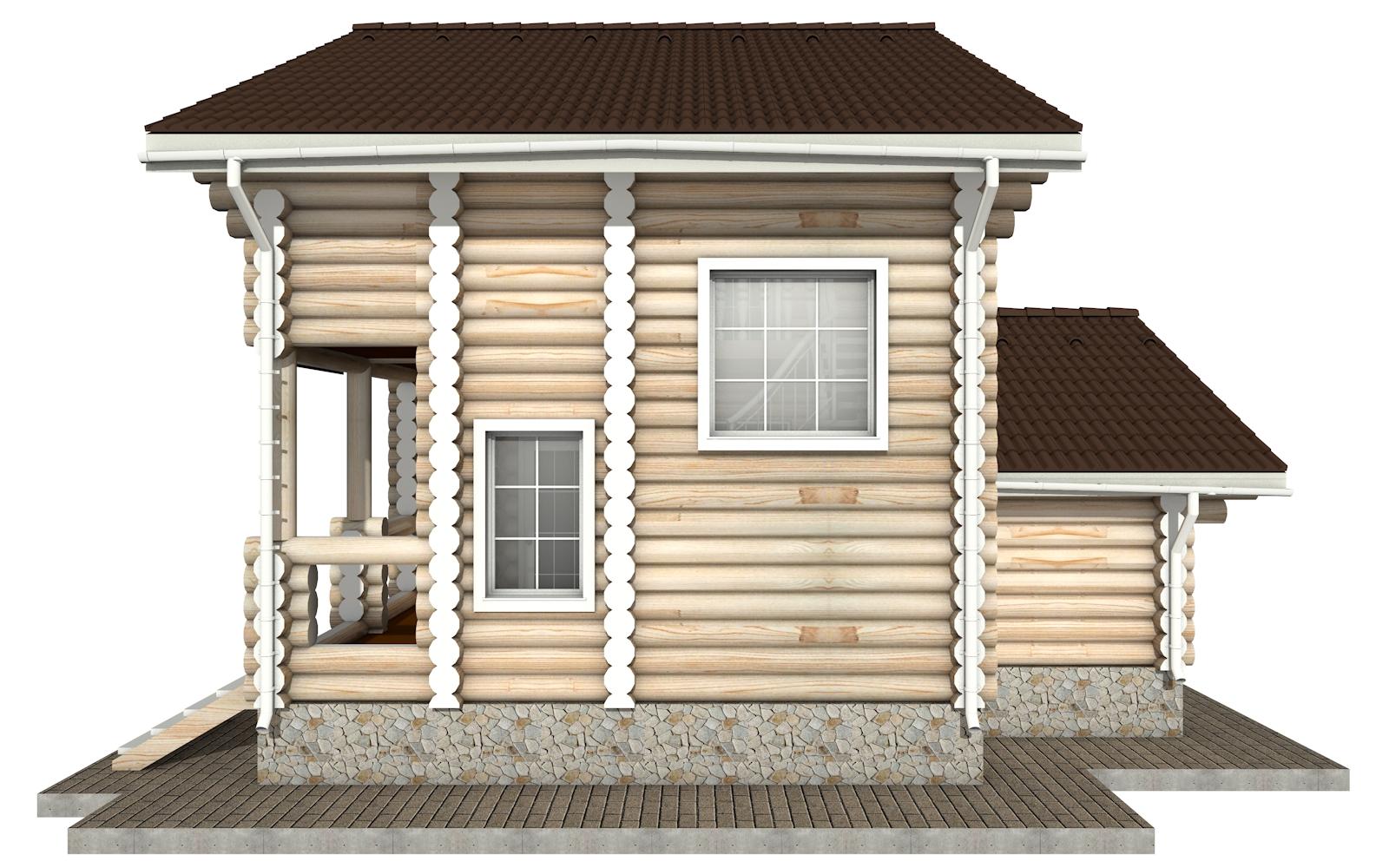 Фото #9: Красивый деревянный дом РС-1 из бревна