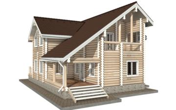 Фото #5: Красивый деревянный дом РС-30 из бревна