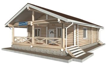 Фото #5: Красивый деревянный дом РС-102 из бревна