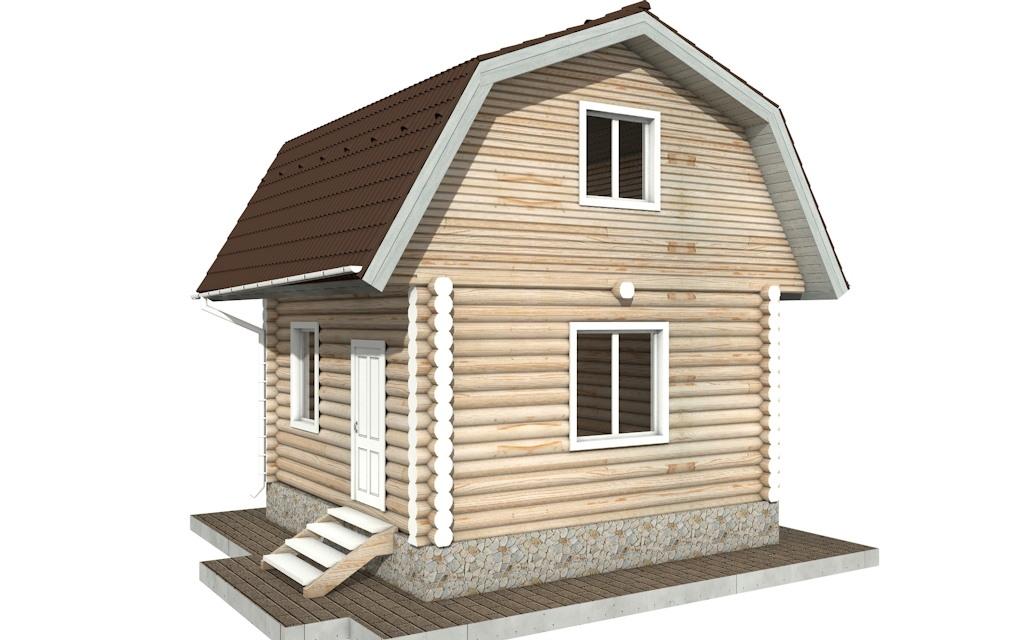 Фото #5: Красивый деревянный дом РС-94 из бревна