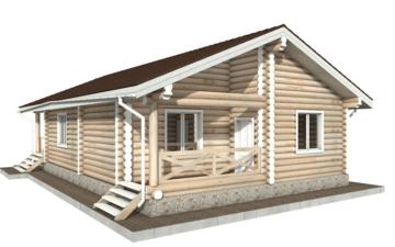 Фото #6: Красивый деревянный дом РС-102 из бревна