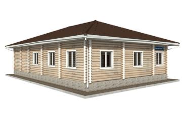 Фото #5: Красивый деревянный дом РС-53 из бревна