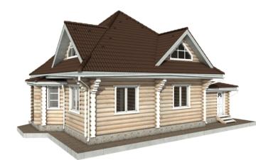 Фото #6: Красивый деревянный дом РС-97 из бревна