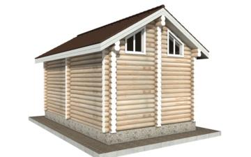 Фото #3: Красивый деревянный дом РС-98 из бревна
