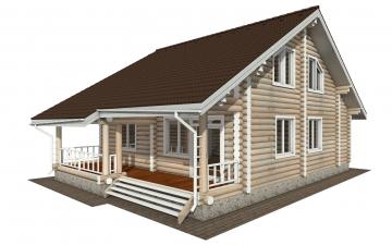 Фото #5: Красивый деревянный дом РС-143 из бревна