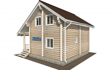 Фото #6: Красивый деревянный дом РС-171 из бревна