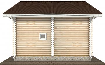 Фото #10: Красивый деревянный дом РС-171 из бревна