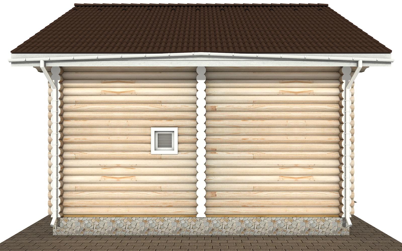 Фото #9: Красивый деревянный дом РС-171 из бревна