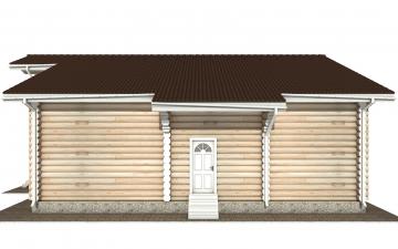 Фото #10: Красивый деревянный дом РС-144 из бревна