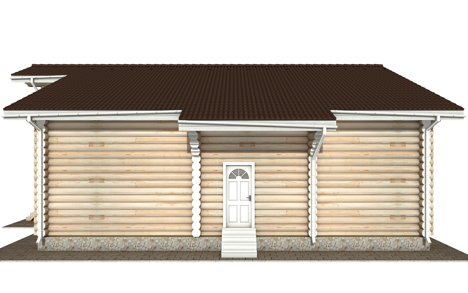 Фото #9: Красивый деревянный дом РС-144 из бревна