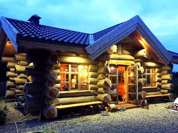 Фото к статье «Дикие» срубы — дома и бани для настоящих ценителей старины