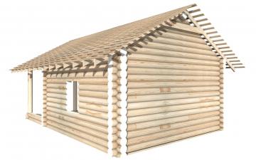СТ-16 - Сруб 6х6 для дома или бани из бревна: цена от производителя (Киров)