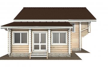 Фото #7: Красивый деревянный дом РС-156 из бревна