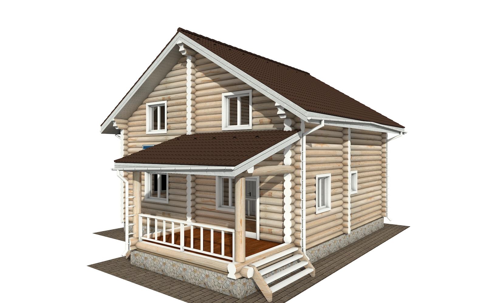 РС-159 - деревянный дома из бревна (из сруба)