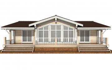 Фото #7: деревянный дом ПДБ-63 из клееного бруса купить за 8979351 (цена «Под ключ»)