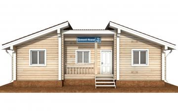Фото #7: деревянный дом ПДБ-70 из клееного бруса купить за 5880759 (цена «Под ключ»)