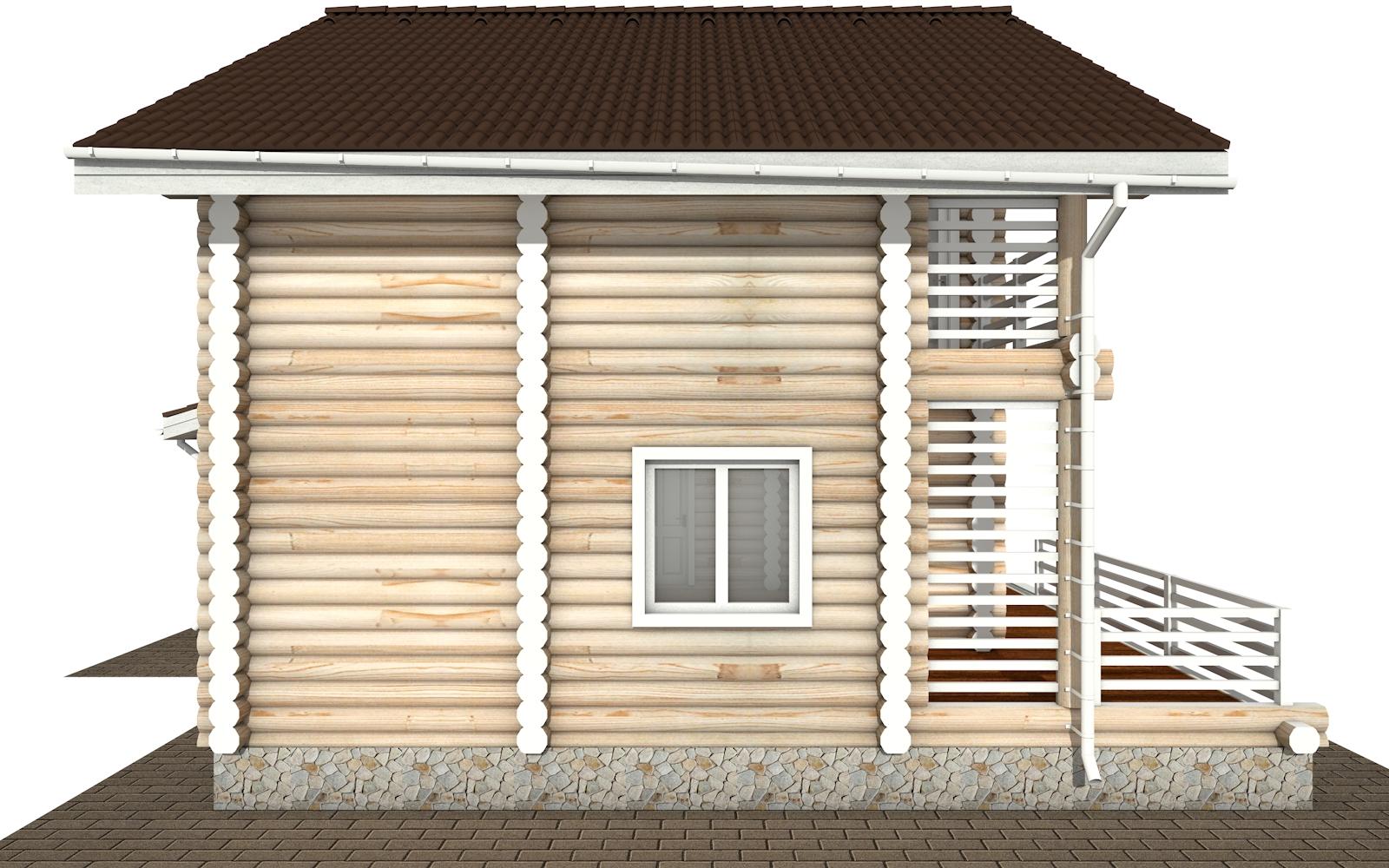 Фото #7: Красивый деревянный дом РС-146 из бревна