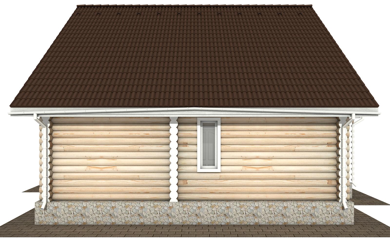Фото #8: Красивый деревянный дом РС-151 из бревна
