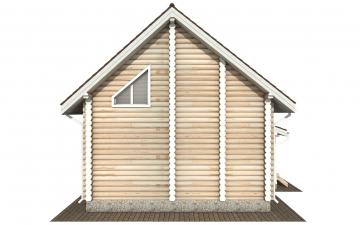 Фото #8: Красивый деревянный дом РС-168 из бревна