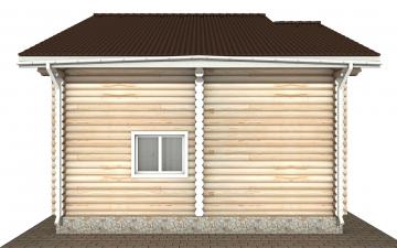 Фото #8: Красивый деревянный дом РС-176 из бревна
