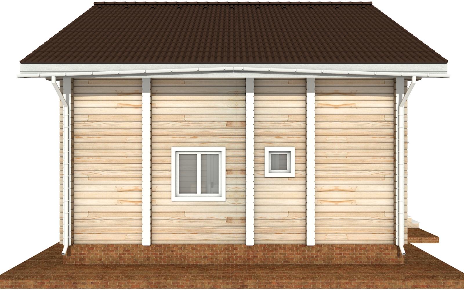 Фото #8: деревянный дом ПДБ-68 из клееного бруса купить за 10596603 (цена «Под ключ»)