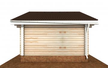 Фото #8: деревянный дом ПДБ-70 из клееного бруса купить за 5880759 (цена «Под ключ»)
