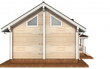 Фото #8: деревянный дом ПДБ-71 из клееного бруса купить за 10054092 (цена «Под ключ»)