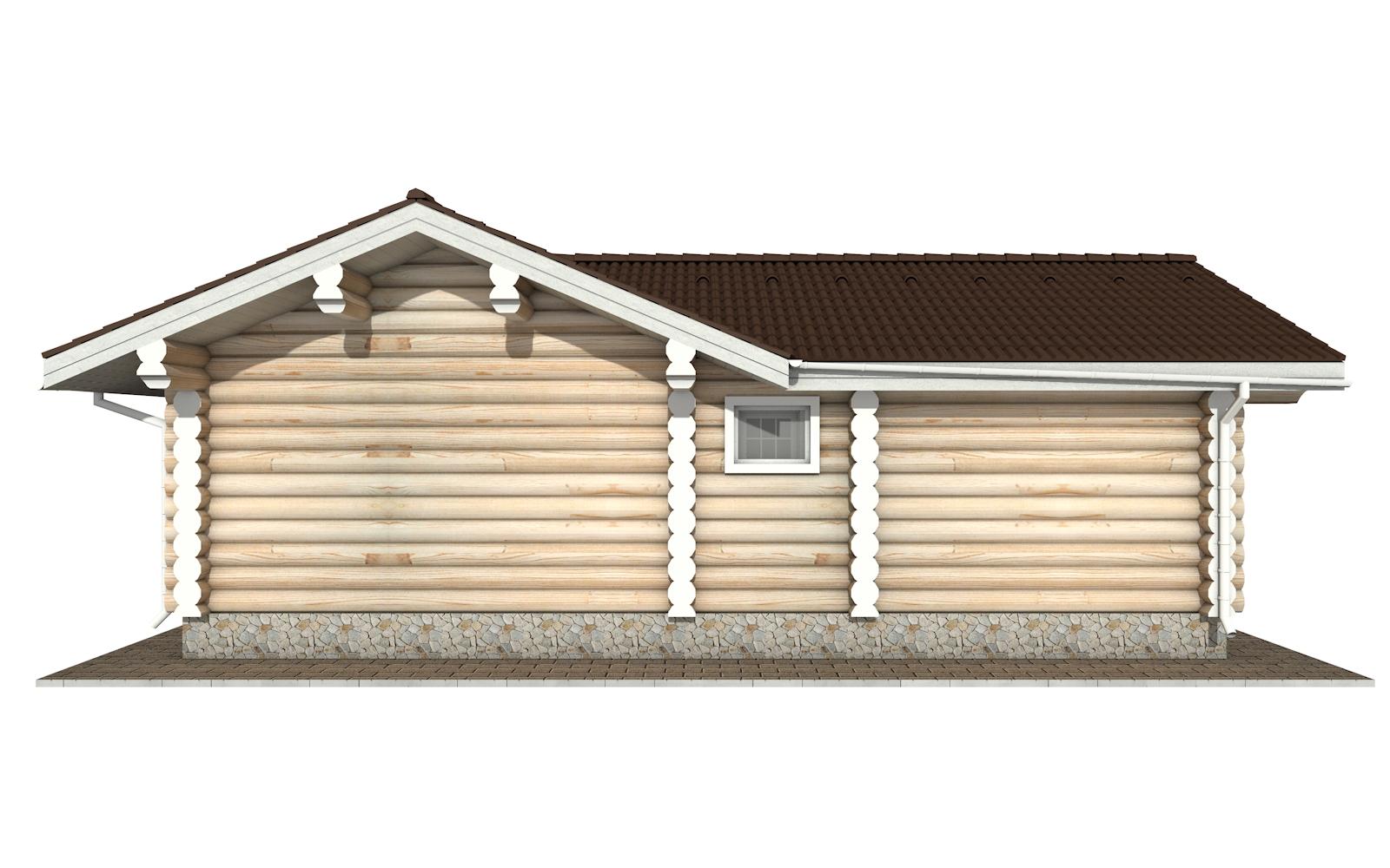Фото #8: Красивый деревянный дом РС-152 из бревна