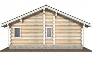 Фото #9: Красивый деревянный дом РС-157 из бревна