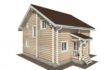 Фото #3: Красивый деревянный дом РС-159 из бревна