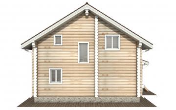 Фото #9: Красивый деревянный дом РС-159 из бревна