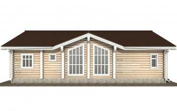 Фото #9: Красивый деревянный дом РС-160 из бревна
