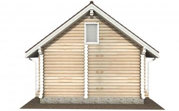 Фото #9: Красивый деревянный дом РС-161 из бревна