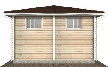 Фото #9: Красивый деревянный дом РС-147 из бревна