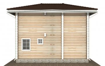 Фото #9: Красивый деревянный дом РС-169 из бревна