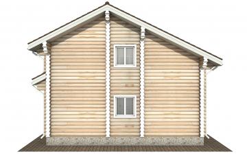 Фото #9: Красивый деревянный дом РС-176 из бревна