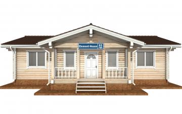 Фото #9: деревянный дом ПДБ-63 из клееного бруса купить за 8979351 (цена «Под ключ»)