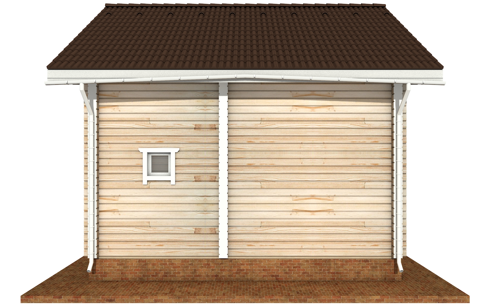 Фото #9: деревянный дом ПДБ-66 из клееного бруса купить за 8077921 (цена «Под ключ»)