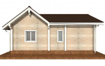 Фото #9: деревянный дом ПДБ-69 из клееного бруса купить за 8728012 (цена «Под ключ»)