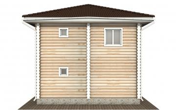 Фото #9: Красивый деревянный дом РС-149 из бревна