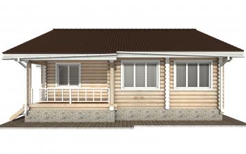 Фото #10: Красивый деревянный дом РС-157 из бревна