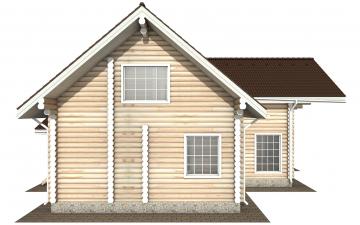 Фото #10: Красивый деревянный дом РС-158 из бревна