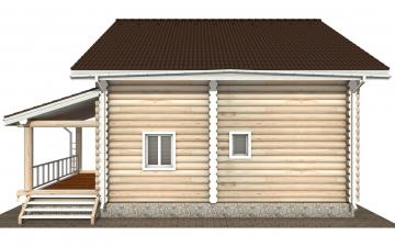 Фото #10: Красивый деревянный дом РС-159 из бревна