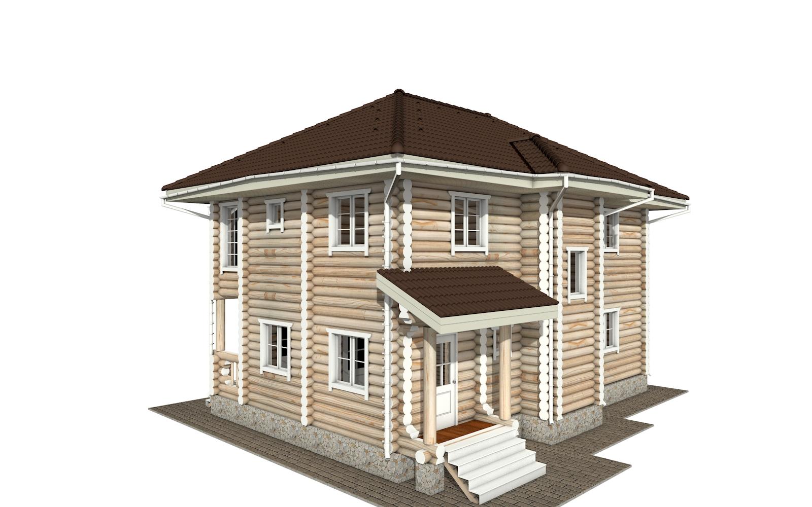Фото #4: Красивый деревянный дом РС-164 из бревна