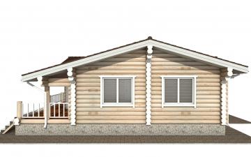 Фото #10: Красивый деревянный дом РС-166 из бревна
