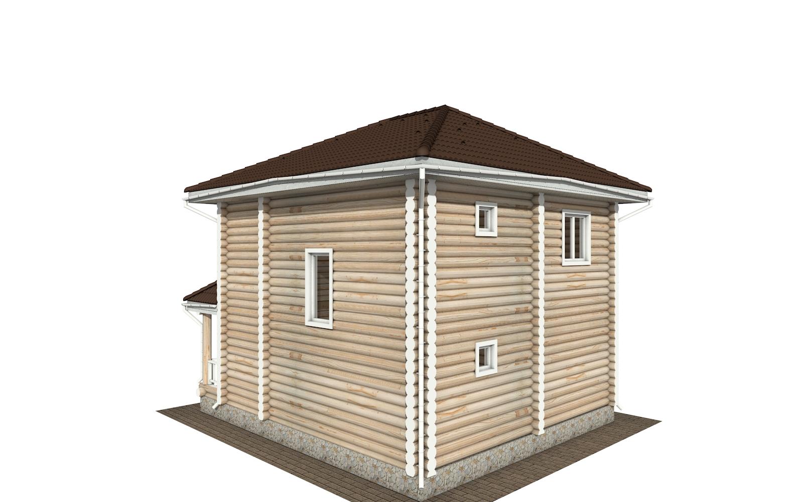 Фото #4: Красивый деревянный дом РС-149 из бревна