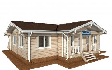 Фото #4: деревянный дом ПДБ-63 из клееного бруса купить за 8979351 (цена «Под ключ»)