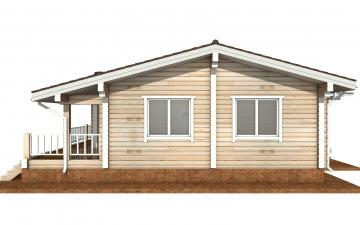 Фото #10: деревянный дом ПДБ-63 из клееного бруса купить за 8979351 (цена «Под ключ»)